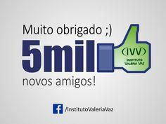Mias de 5000 novos amigos! Muito obrigado. :)