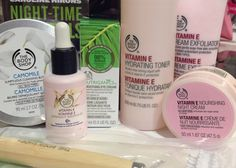 Caroline Hirons' Night Routine from The Body Shop