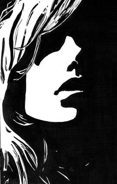 pen portrait with negative space - Google Search