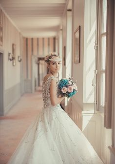 If you like this picture and hope the same for your coming wedding, don't hesitate to contact our agency : weddinginfrance.fr/en  #russianweddinginfrance#frenchwedding#frenchchateau#marriedcouple#princesswedding#jewelsdress#whiteweddingdress#weddingdresstrain#train#mariageenfrance#frenchmarriage#weddinginparis#weddinginfrance#frenchwedding#uniqueplacetomarry