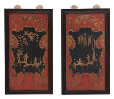 Lantan Willow Panels - Set of 2 on Chairish.com