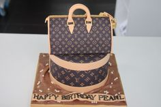 images of pocketbook cakes | Celebrate with Cake!: Louis Vuitton Bag Cake