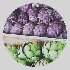 Marjolein Kookt ! Koken gaat over veel meer dan eten bereiden . Het gaat over liefde , smaak , mooie producten en over mensen . Want lekker eten wordt nog veel lekkerder als je er samen van geniet . Daarom deel ik hier mijn passie . Een pagina vol recepten , tips , wetenswaardigheden en leuke plekken om heerlijk te eten . Smakelijk !  Foto van de ( paars / groen ) artisjokken natuurlijk zelf gemaakt . Thuiskok , groenteboer , groenten , kleurrijk eten , gezond eten