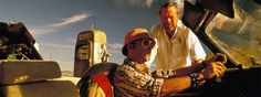 Best Behind The Scenes Photos Of Epic Movies- Fear and Loathing in Las Vegas- Johnny Depp and Terry Gillam.