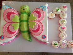 Schmetterlings-Torte