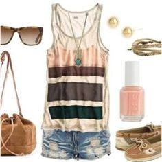 cute summer outfit by Rubber ducky