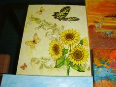 slunečnice Painting, Art, Painting Art, Paintings, Kunst, Paint, Draw, Art Education, Artworks