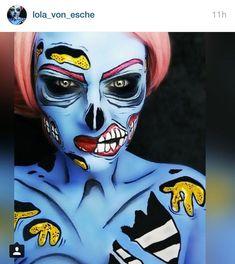 Afbeeldingsresultaat voor pop art zombie