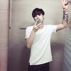 asian, boy, and tattoo image