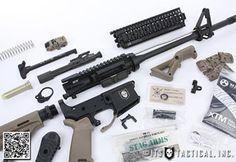 AR 15 build list...I love this list.  Very comprehensive