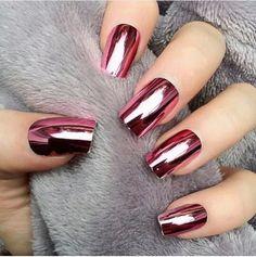 Metallic pink #loveit