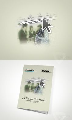 Cinco Días - Auna -   La Nueva Sociedad  - www.versal.net • Diseño Gráfico • Identidad Visual Corporativa • Publicidad • Diseño Páginas Web • Ilustración • Graphic Design • Corporate Identity • Advertising • Web Pages • Illustration • Logo
