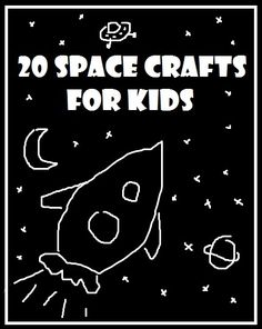 "Welcome back to our ""Get Crafty"" round up! A round up of crafty ideas out there designed to inspire you and your family to get crafty! This month's theme is ""Space"" – all those wonderful, stars, planets, moons, rockets and maybe the odd aliens. Hopefully you will find something for everyone. I have also teaming …"