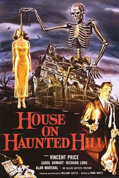 HOUSE ON HAUNTED HILL POSTER - 1959