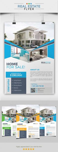 #Real Estate Marketing #Flyer - Commerce Flyers