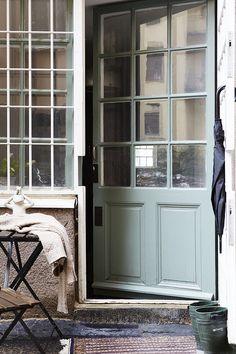 Terrass dörr fönster industristil