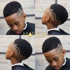 Hair cuts for boys Lil Boy Haircuts, Little Black Boy Haircuts, Black Boy Hairstyles, Boys Fade Haircut, Toddler Boy Haircuts, Black Men Haircuts, Boys Undercut, Undercut Hairstyle, Boys Haircuts With Designs