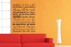 Hey, I found this really awesome Etsy listing at http://www.etsy.com/listing/116866235/wall-decal-family-rules-vinyl-wall-art