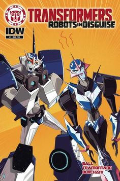 Transformers: Robots In Disguise Animated (2015) Issue #3
