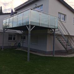 Stahlbalkon, Anbaubalkon,Balkon, Terrasse, Geländer, Edelstahl,Bausatz