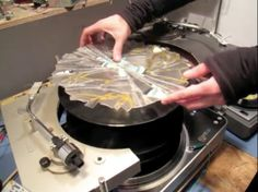 Vinyl terror & horror, treating vinyls as pure material to be physically used and manipulated http://neural.it/microposts/vinyl-terror-horror-dissecting-and-playing-records-attitudes/