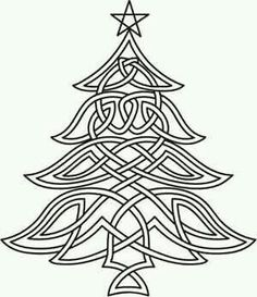 Celtic Christmas Tree Image By Urban Threads