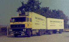 DAF29-64-FB  2800 Frigo truck 6X2 van Amerongen Barneveld