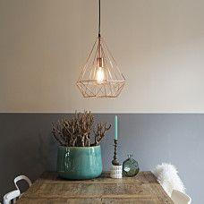 Lámpara colgante CARCASS cobre - 92021