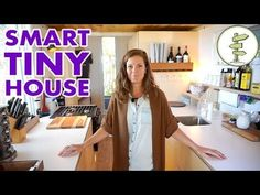 Modern Tiny House with Hidden Bathroom and Space Saving Furniture - Video Tour