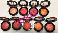 1 PC / porción 2015 CALIENTE DE MAQUILLAJE DE VENTA Nuevos 9colors mineralizan 3.2g rubor CON INGLÉS NOMBRE ! envío gratis !!!