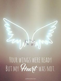 Your wings were ready cross stitch chart on the website for Your wings were ready but my heart was not tattoo