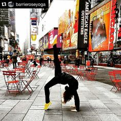 #Repost @barrieroseyoga  In the heart of an amazing city - NYC my hometown - with the sights and sounds- the noise and chaos -this bustle and hustle - this dream weaving highly stimulating city - it's important to tap in to yourself. Calm the Chitta vritti niroda -- Commit to yourself - follow the Yamas and Niyamas daily - practice pranayama and asana - then meditate - concentrate in the third eye -while in your favorite pose. You can find upekka - serenity and peace anywhere - even Times…