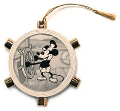 WDCC Disney Classics_Steamboat Willie Mickey Mouse Ornament
