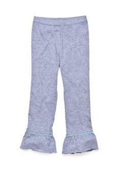 J. Khaki  Solid Ruffle Pants Toddler Girls