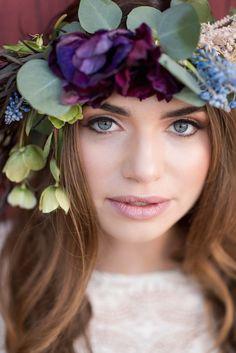 Pretty Boho Wedding Inspiration   KMH Photography   Paulina Clute Events   Bridal Musings Wedding Blog