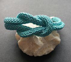 Armbänder - Armband - türkis verwickelt - ein Designerstück von Patikreli bei DaWanda