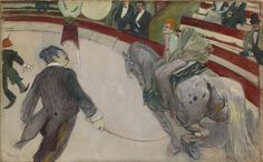 Henri de Toulouse-Lautrec  French, 1864-1901, Equestrienne (At the Cirque Fernando)