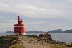 Faro de punta Robaleira España