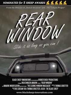 Amarok rear window
