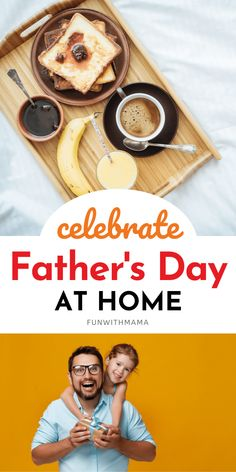 Simple ways celebrate fathers day at home! Mother And Father, Mothers, Activities For Kids, Crafts For Kids, Homemade Donuts, Fathers Day Crafts, Day Plan, Breakfast In Bed, Take A Nap