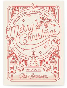 christmas poster design Merry Little Lines Holiday Petite Cards Noel Christmas, Christmas Design, Vintage Christmas, Christmas Crafts, Christmas Fonts, Christmas Doodles, Merry Christmas Typography, Christmas Posters, Merry Christmas Drawing