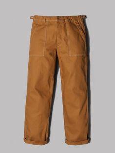 Engineered Garments Workaday Fatigue Pants (Brown 10oz Cotton Duck)