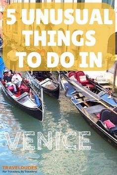 5 Unusual Things To Do in Venice Venice is one of the most known Italian cities, so maybe many people may think that Venice cannot have any secret. Italy Vacation, Vacation Destinations, Italy Trip, Cinque Terre, Pisa, Voyage Rome, Things To Do In Italy, Venice Things To Do, Italy Travel Tips
