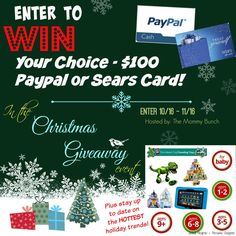 Christmas Shopping Giveaway!