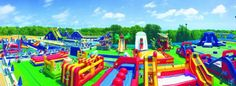 The Cape Cod Inflatable Park in West Yarmouth, Massachusetts is a wonderful hidden water park full of inflatable slides. Summer Bucket, Summer Fun, Inflatable Water Park, Who Goes There, Great Wolf Lodge, Swimming Holes, Day Trips, Weekend Trips, Rafting