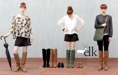Introducing the gorgeous all-leather winter boot collection from Melbourne's Elk Accessories. Meet the sexy 'Tall Tab' riding length boot, and the cheeky 'Strova' wedge boot.