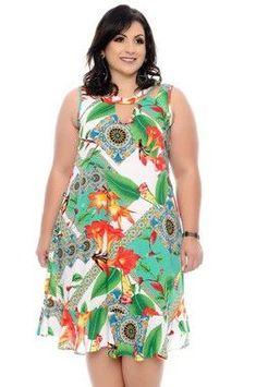 Vestido Plus Size Mycal Plus Size Summer Fashion, Plus Size Fashion For Women, Plus Size Womens Clothing, Clothes For Women, Vestidos Plus Size, Plus Size Gowns, Plus Size Outfits, Short African Dresses, African Print Fashion