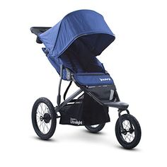 Joovy Zoom 360 Ultralight Jogging Stroller, Blueberry - The Zoom 360 Ultralight is the newest addition to the Joovy jogging stroller line. Made with 6061 aircraft aluminum, it is 10% lighter and its updated design is simpler, stronger and better looking than its predecessor. The new Zoom 360 Ultralight has a straight through axle that runs straighter ...