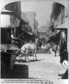 In the Heart of Chinatown, San Francisco, U.S.A., c. 1892