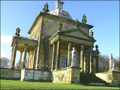Castle Howard's Temple of Four Winds 1738